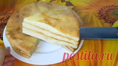 Лепёшки с картошкой и сыром на кефире, цыганка готовит. Хычины.