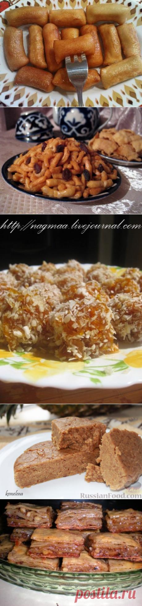 рецепты восточных сладостей