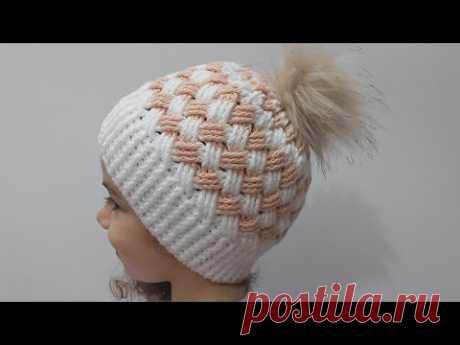 TIĞ İŞİ EFSANE ŞAPKA (BERE) YAPIMI| Örgü Modelleri| Crochet Hat Making