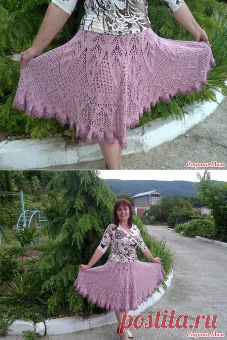 . Моя мечта - летняя юбка! - Вязание спицами - Страна Мам