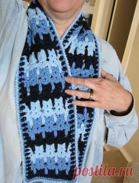 Loops and Ramblings: Kittens in a Row Scarf