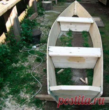 Настоящая лодка для рыбалки своими руками