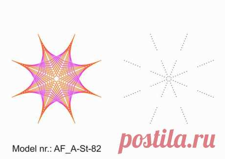 StringArt от Ágota и много фотографий природы - моделей