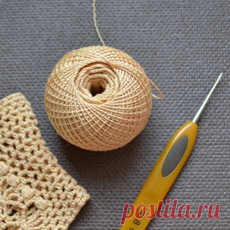 Список пряжи для вязания летних ажурных перчаток. | Вяжем крючком с Ольгой Ингрией | Яндекс Дзен