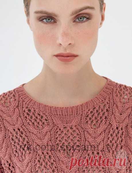 Очень красивый свитер со сказочным узором — DIYIdeas