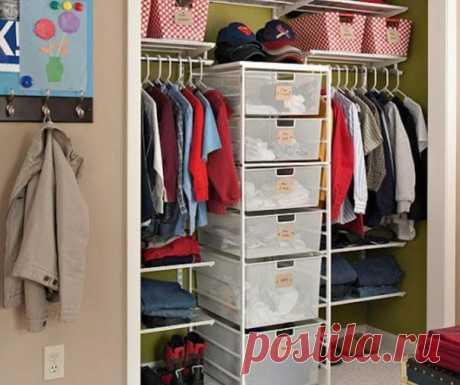 Сезонное хранение: 15 советов, как организовать гардеробную