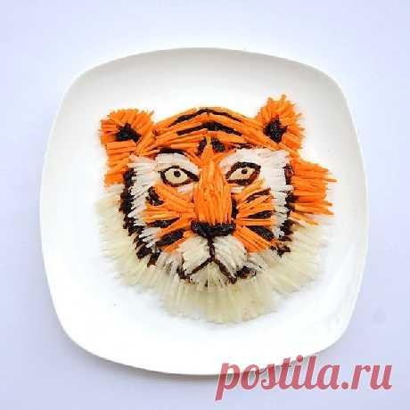 Картины из еды | 4vkusa.ru