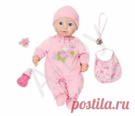 Отличие куклы Беби Анабель 10-й версии от предыдущих - Baby Annabell 794-821 Zapf Creation новая версия