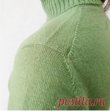 «Японское плечо» — выкройка (Уроки и МК по ВЯЗАНИЮ) — Журнал Вдохновение Рукодельницы