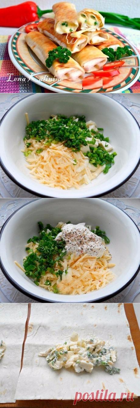 Как приготовить лаваш, жареный с сыром. - рецепт, ингредиенты и фотографии