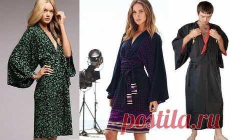 Стильное кимоно своими руками  / Логика моды
