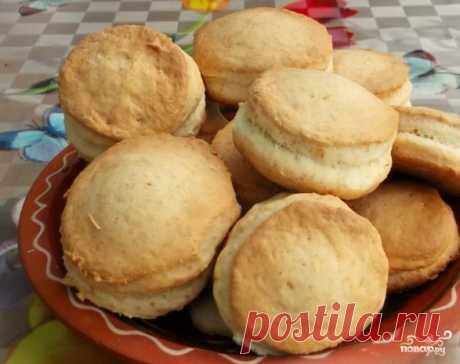 Сметанные лепешки в духовке - пошаговый рецепт с фото на Повар.ру