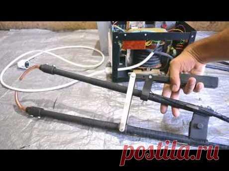 Как сделать МОЩНУЮ точечную сварку с выносными клещами (для оцинковки и кузовных работ)