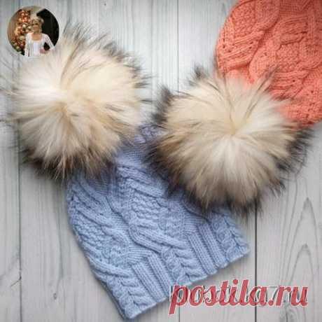 Очень красивый узор для шапочки Очень красивый узор для шапочки будет также красиво смотреться на зимних свитерах.