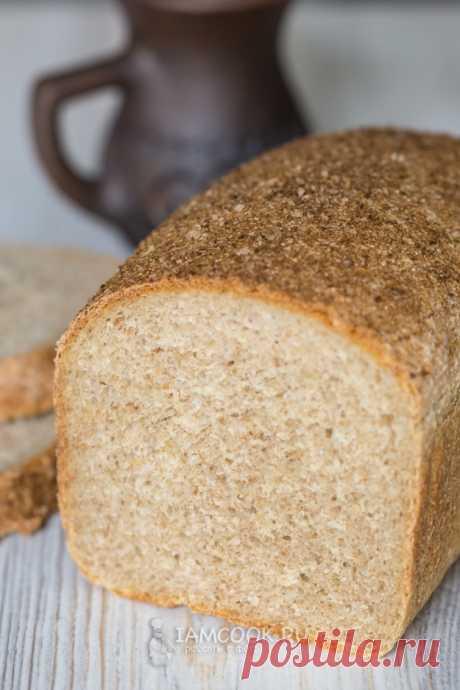 Пшенично-ржаной хлеб с ржаными отрубями — рецепт с фото пошагово