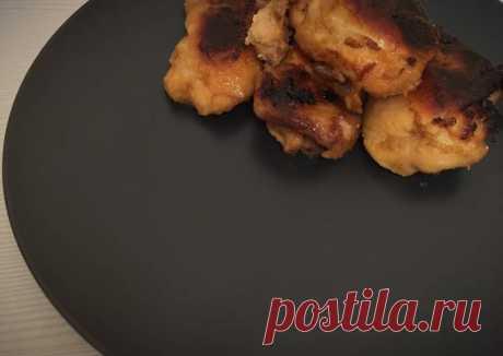 (12) Куриные бёдра в медово-горчичном соусе - пошаговый рецепт с фото. Автор рецепта Margossshka . - Cookpad