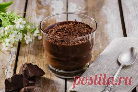 Шоколадный мусс — Sloosh – кулинарные рецепты