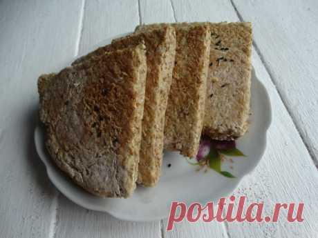 Фарлс – домашний ирландский хлеб из овсянки с кефиром.