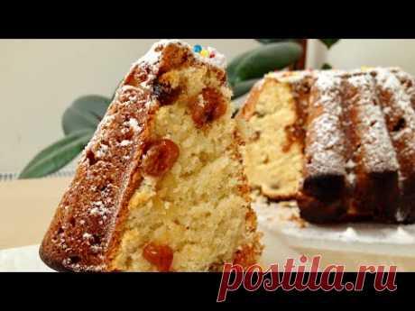 Очень Вкусный Творожный Кекс (Паска) - Просто Обалденный Рецепт   Curd Cake, English Subtitles