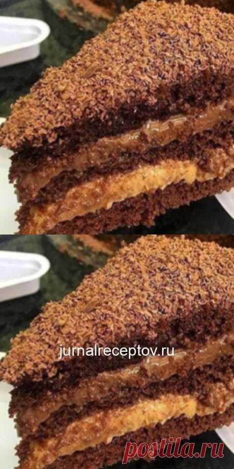 Шоколадный торт на кипятке: шикарный рецепт!