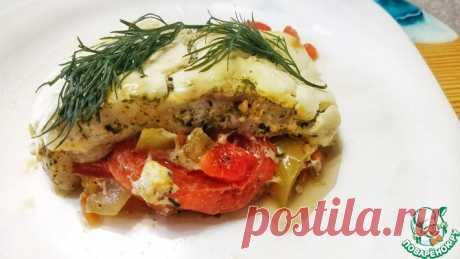 Филе пангасиуса в духовке с овощами Кулинарный рецепт