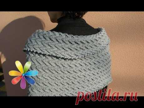 Knitted scarf without spokes in 30 minutes - awaking All to dobra - Release 542 - 03.02.15 - Everything will be good