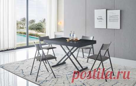 Стол Adrien + 4 стула Party Обеденная группа Adrien & Party