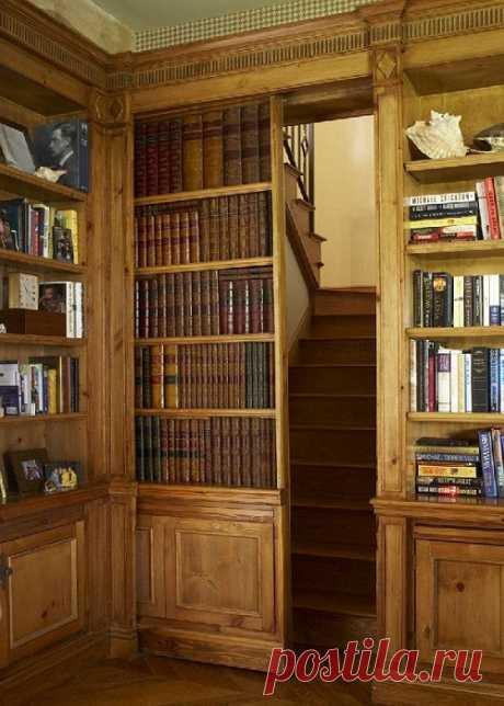 12 идей, как и где можно сделать скрытую комнату и оборудовать в ней «тайник»