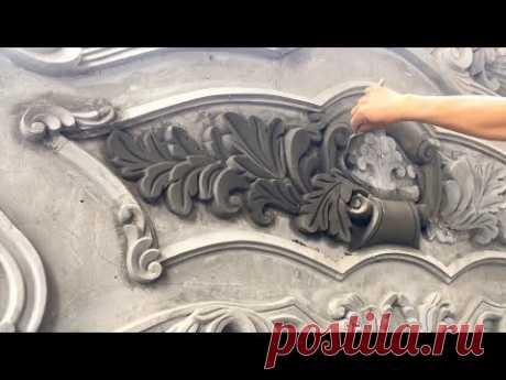 Красивый декор из бетона для фасада своими руками, не просто штукатурка