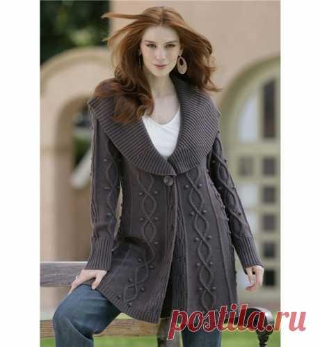 Gallery.ru / Фото #45 - вязание: пальто и кардиганы (идеи для вязания) - vividen
