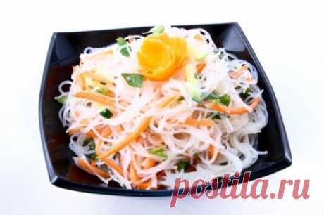 "11 options of ""фунчоза&quot salad; - Simple recipes of Овкусе.ру"