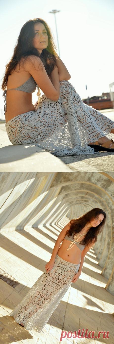 Альбом«Паутинки на ветках - юбка крючком от SexyCrochet»