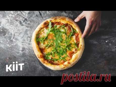Пицца: тесто+соус+как выпекать+ веган опция. | Кулинария