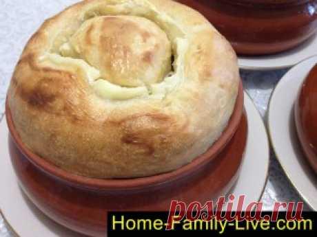 Рыба с картошкой в горшочке/Сайт с пошаговыми рецептами с фото для тех кто любит готовить