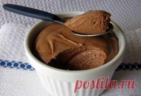 Шоколадный мусс из обезжиренного творога
