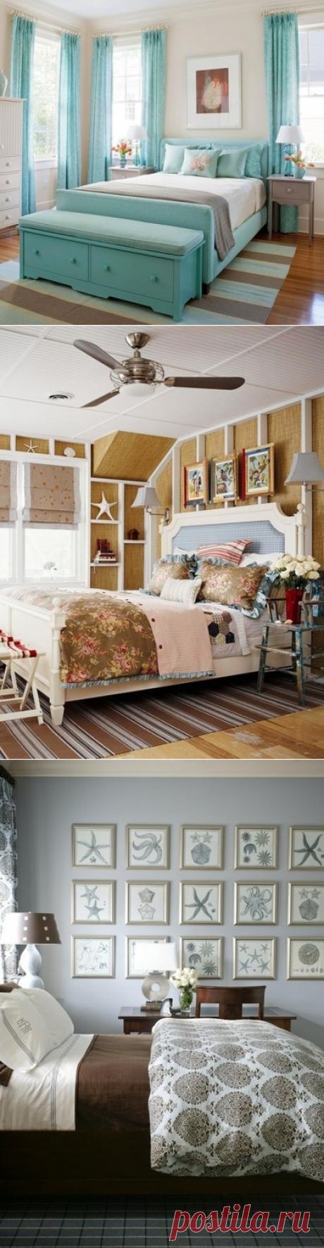 Морская тематика в спальне - Дизайн интерьеров | Идеи вашего дома | Lodgers