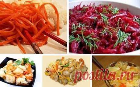 Салаты по-корейски: 5 замечательных рецептов