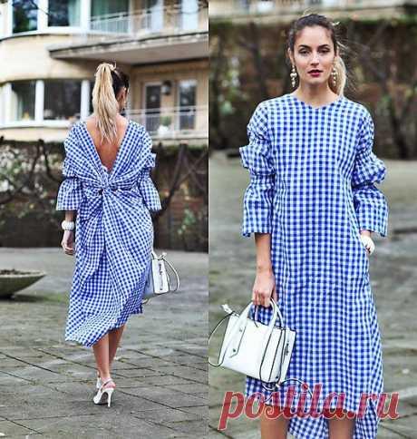 Street Style, платье-рубашка: небольшая подборка образов — HandMade