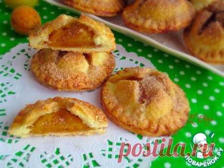 Печенье с абрикосами - нежное, ароматное, золотистое