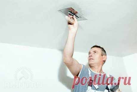 Как выровнять потолок штукатуркой своими руками RMNT.RU