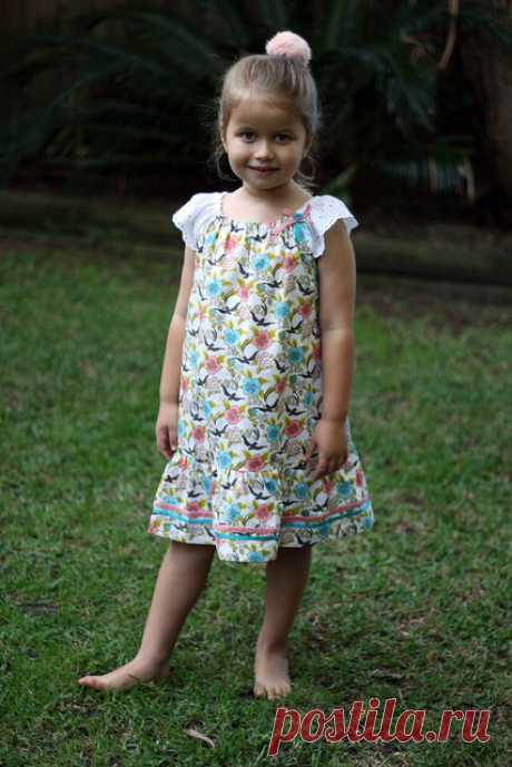 Сарафанчики для девочек своими руками — Делаем руками
