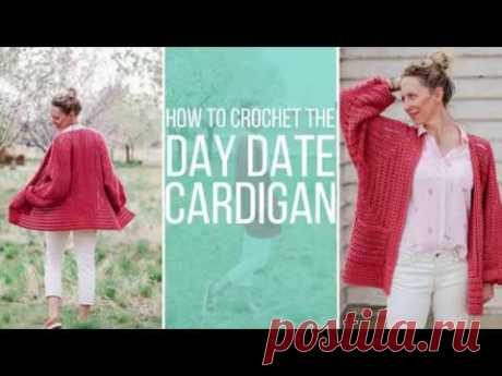 How to Crochet an EASY Cardigan from Two Simple Hexagons - Free Pattern - YouTube