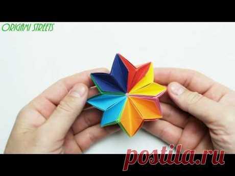 Как сделать движущийся антистресс из бумаги