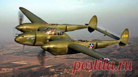 Многоцелевой истребитель P-38 «Lightning»