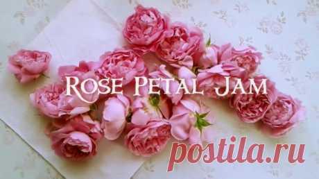 Варенье из роз и DIY декор баночки
