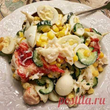 Крабовый салат — главное праздничное блюдо моего студенчества | Маргарита Симоньян | Яндекс Дзен