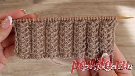 Красивые резинки спицами - svjazat.ru Резинка вязать узор уха – новая модель от Екатерины Мушин Красивые резинки спицами Набрать количество петель кратное 5+1+2 края петли. 1-й ряд (лицензия сторона): кром. петли, *1 изн., 1 лиц., пропустить 2 петли, снять петлю, вязать передние петли не хватает, чтобы сбросить новую петлю на вязании, 1 лиц., повторять от *, 1 изн., хром. петли. …