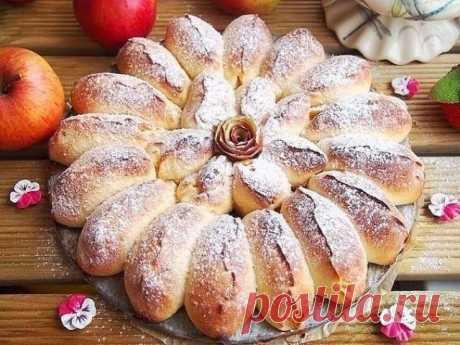 Готовлю каждые выходные двойную порцию — Разборной пирог с яблоками. Пальчики оближешь! - Рецепты мира Пирог получается очень ароматный, красивый, нежный и вкусный. А также обязательно порадует...
