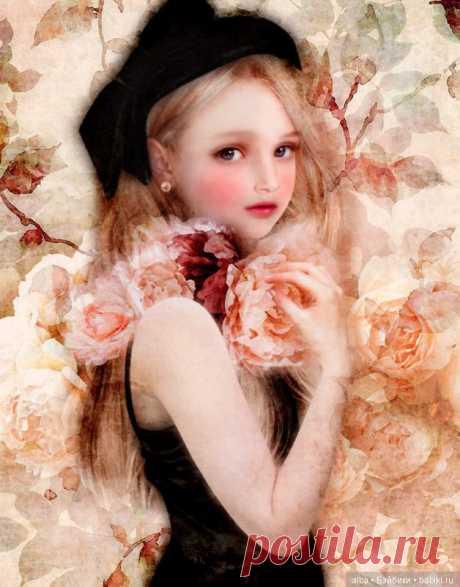 Поздравляю с днем св. Валентина! Очарование любви и сказки в картинах японки Yokota Miharu (Йокота Михару) / Разное. Интересное / Бэйбики. Куклы фото. Одежда для кукол