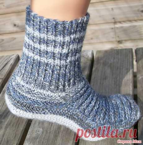 Меланжевые носки by Stepaszka - открываю утеплительный сезон - Вязание - Страна Мам